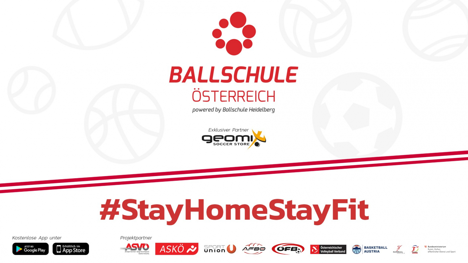 STAY HOME STAY FIT - Ballübungen per App