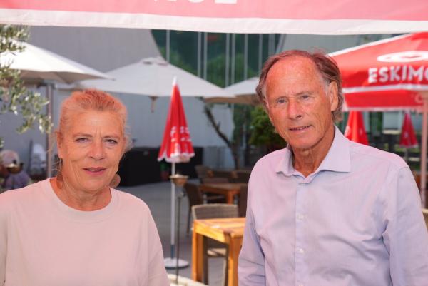 Vizebürgermeisterin Angelika Hinteregger und ASVÖ-Präsident Dr. Christoph Schasché // (c) W. Pleschberger (KK)