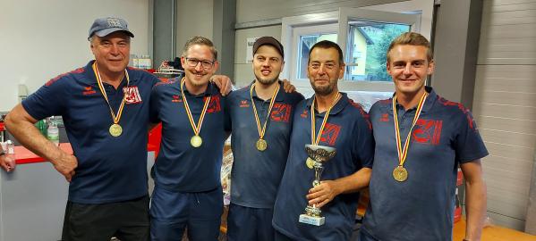 Sieger der Stocksport-Unterliga 1 - EV Zammelsberg 3 // (c) Herwig Kopp (KK)