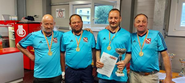 Sieger der Stocksport-Unterliga 2 - SV St. Urban 2 // (c) Herwig Kopp (KK)