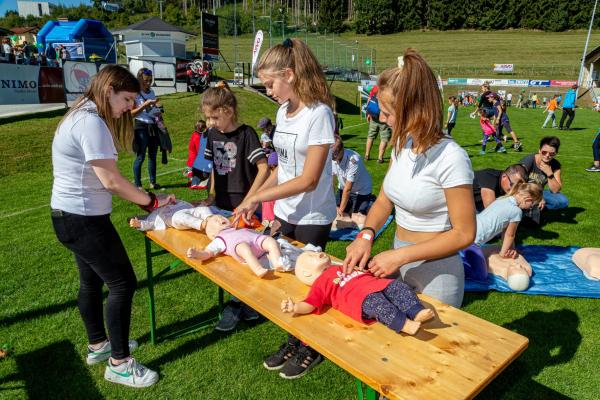 Erste Hilfe - Rotes Kreuz Feldkirchen (© Unterberger)